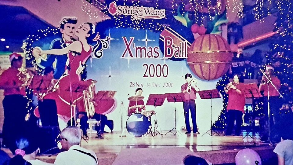 With my brass group in 2000