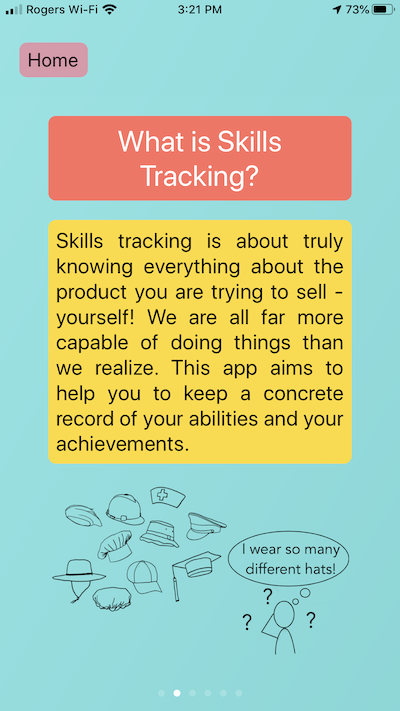 What is skills tracking?